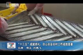 """""""十三五""""成就巡礼:台山农业农村工作成效显著"""