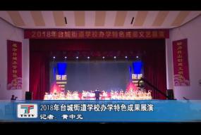 2018年台城街道学校办特色成果展演
