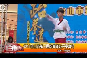 2019台山市第三届跆拳道公开赛举行