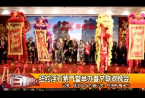纽约浮石紫气堂举行新春联欢晚会