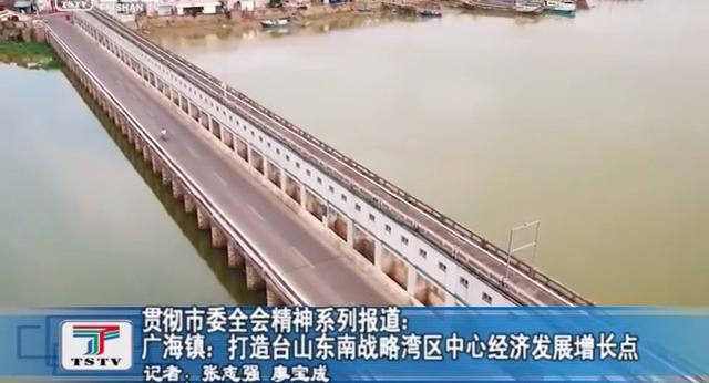 贯彻市委全会精神系列报道:广海镇:打造台山东南战略湾区中心经济发展增长点
