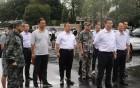 国家防总和省、市领导坐镇台山指挥防御工作