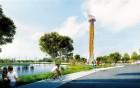 江门体育中心景观塔怎么建, 3个方案由你选!