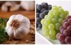 多吃葡萄和大蒜防血栓