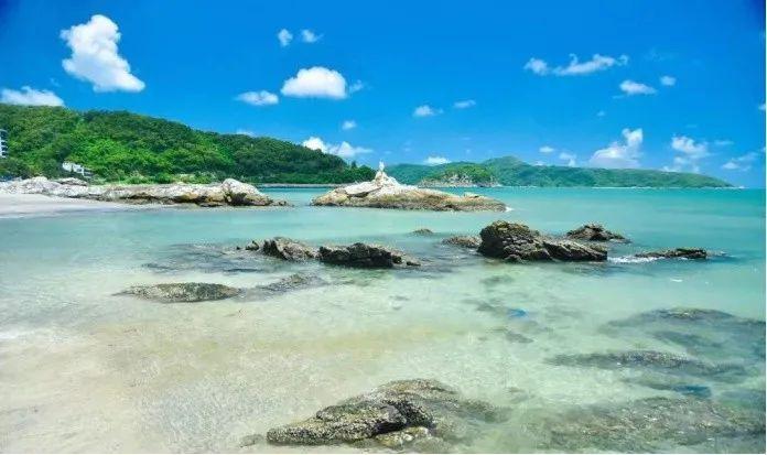 风光优美的下川岛(图片来自川山群岛旅游网)