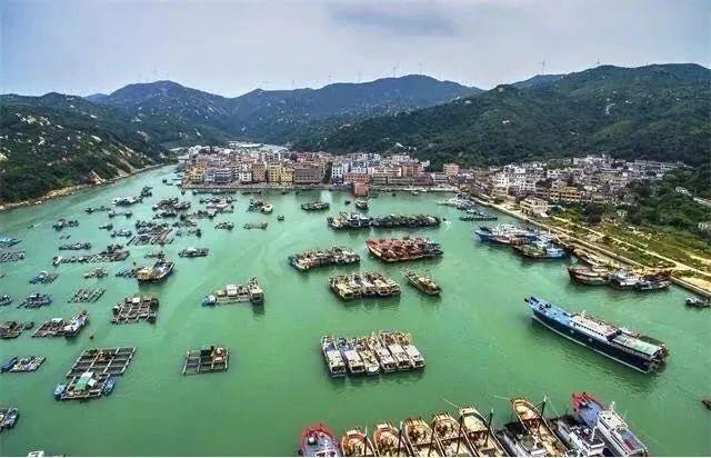 川岛渔港(陈俊诚 摄)