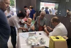 巴西中国商会参加复活节爱心活动 回馈社会尽心意