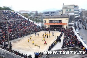 斗山镇举办系列文体活动喜庆春节