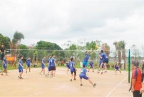 纽约华体会举行纽约台山九人排球赛
