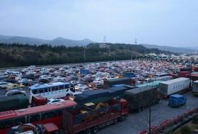 春运期间,中江高速车流量预计同比增长8.24%
