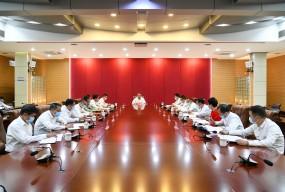 市委网络安全和信息化委员会第二次全体会议召开