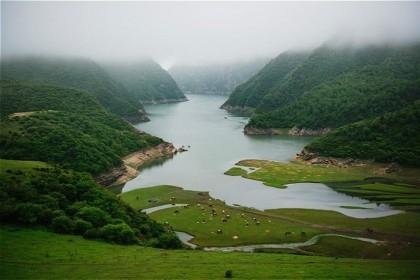 你以为这是江南的美景 其实这是甘南的仙境