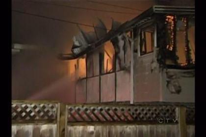 加拿大一分租屋失火烧死中国留学生 房东夫妇被控罪