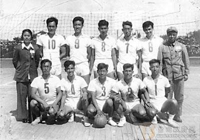 马杏修:新中国第一任国家男子排球队教练