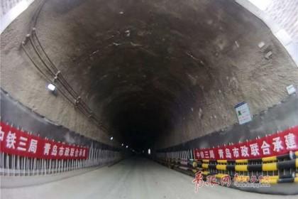 中国最深地铁海底隧道贯通 海底部分最深处达88米
