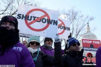 美政府停摆25天:民主党拒绝总统邀请 谈判仍陷僵局