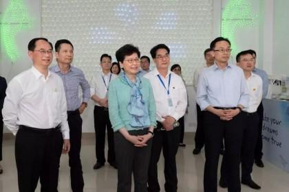 香港特区行政长官林郑月娥到访江门!去了这几个地方……快来关注!