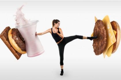 拒绝垃圾食品 身体发生变化!