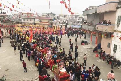五邑民俗瑰宝:台山汶村庙会