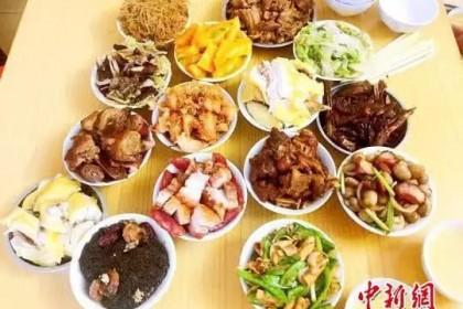 """广东侨乡台山农历六七月过""""鸭仔节"""""""