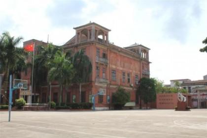 越华中学:74年前日军投降地 今天的爱国主义教育基地