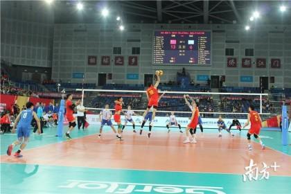 冲奥首捷!中国男排3:0横扫哈萨克斯坦