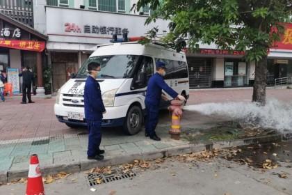 江门支队迅速开展集中隔离场所消防安全大检查