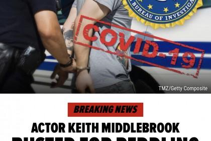 《钢铁侠2》演员被FBI逮捕,涉嫌兜售新冠肺炎假药