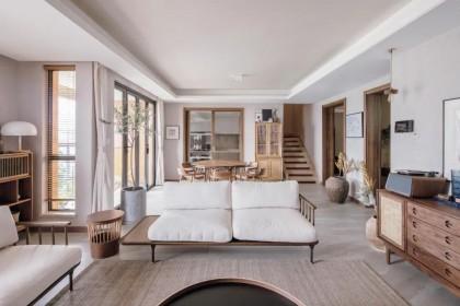 成都夫妻打造230㎡日式原木家 装修就花了80万