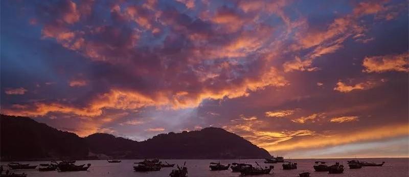 【川山群岛遇见记】海岛的晚霞