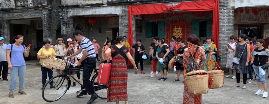 品尝台山乡村美食  体验乡村民俗文化