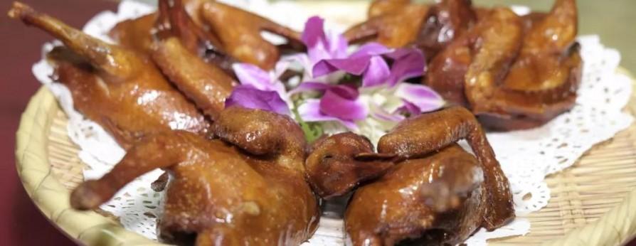 多汁脆皮乳鸽!看这道外地食材如何变台山名菜?