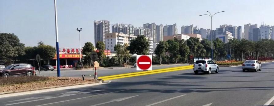 台城舜德路与炳礼路路口进行交通组织调整测试
