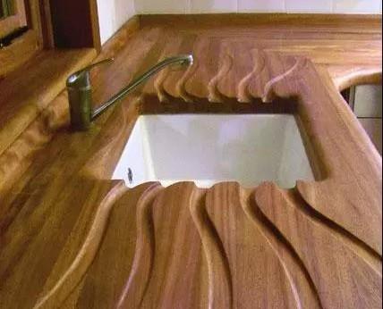 洗菜池两边各划几条槽是为了好看?用处大着呢