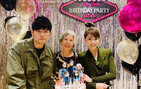 周杰伦41岁生日开派对庆祝 妈妈叶惠美惊喜现身