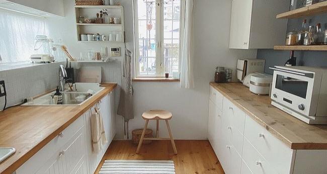 """给厨房来一场""""断舍离"""",空间感提升一倍,再次体会到烹饪乐趣"""