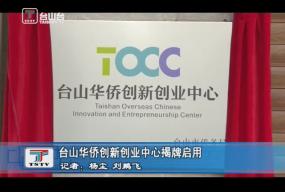 台山华侨创新创业中心揭牌启用