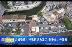 台城街道:抢抓机遇再发力 乘势而上开新局