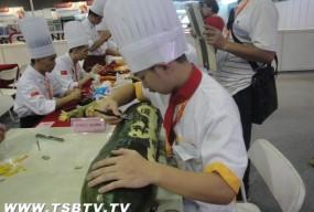 参与专业技能大赛  展示学生风采